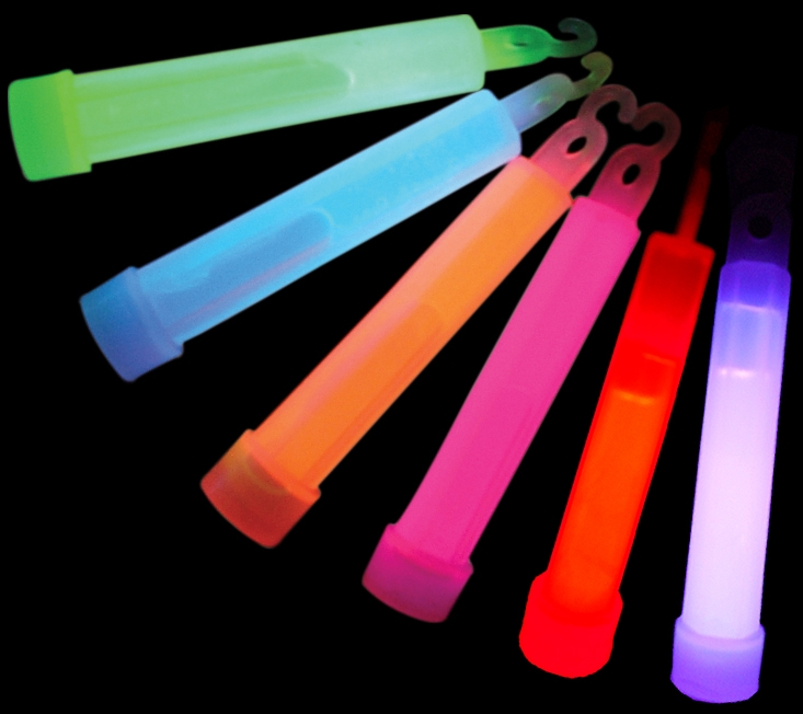 Glow Stick With Lanyard, 4