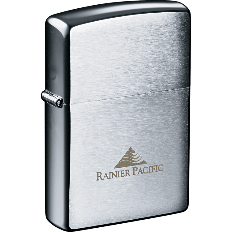 Zippo Windproof Lighter Brush Chrome