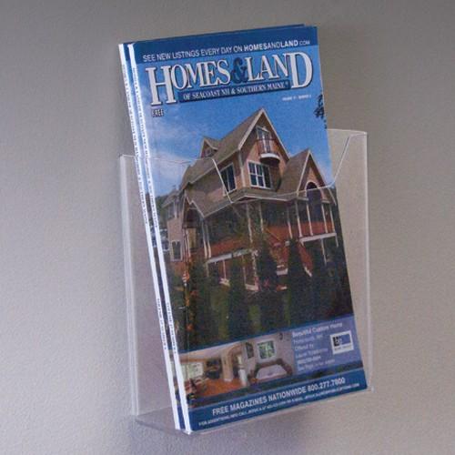 Single Pocket Wall Mount Brochure Holder - 5.5w