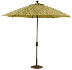 9ft Commercial Aluminum Market Umbrella Crank