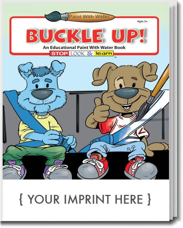 PAINT WITH WATER - Buckle Up! Paint with Water Book