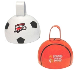 Sports Cowbell-Soccer Ball