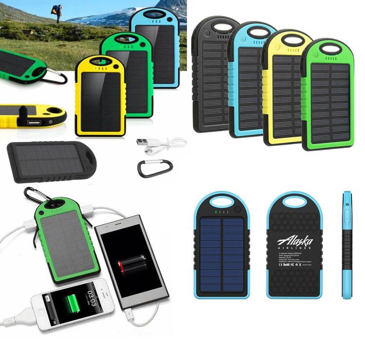 iBank® 5,000 mAh Solar Power Charger