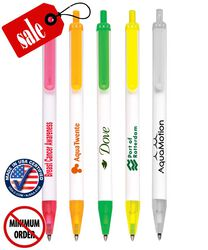 Certified USA Made - Translucent Clicker Pens