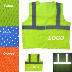 Adult Reflective safety Mesh Vest