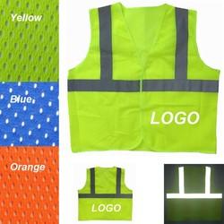 Adult Reflective safety Mesh Vest