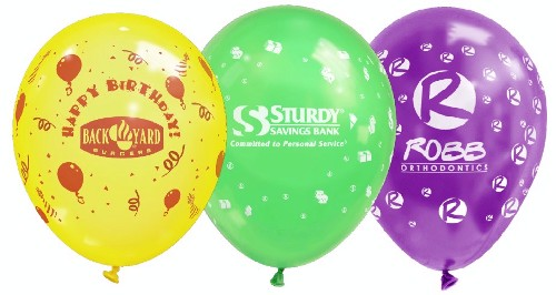 11 CRY Wrap Around Imprint Balloon