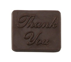 CHOCOLATE THANK YOU SQUARE