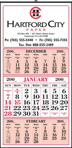 Style 115 12-Sheet Calendar