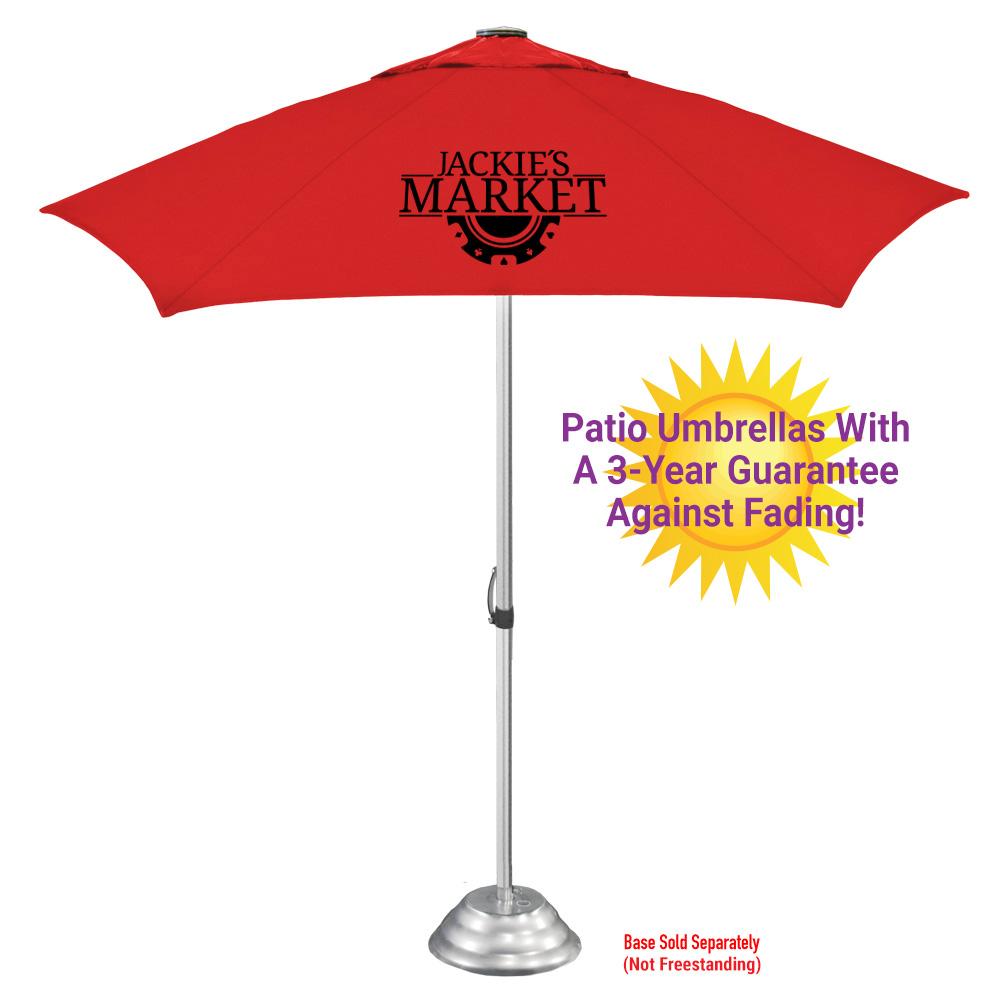 The Vented Supreme Patio Umbrella -- 3 Year Fade/Mildew