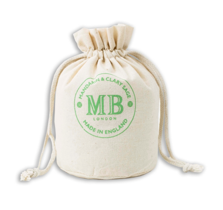 """66d3e5fd47 """"Weedy"""" Round 100% Natural Cotton Drawstring Bags"""