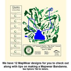 MAPWEAR -- BANDANNA MAPS