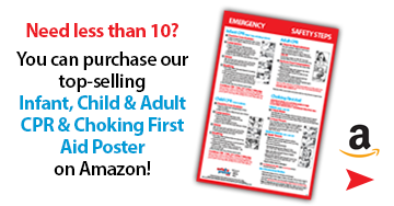 Buy CPR and Choking First Aid Poster on Amazon