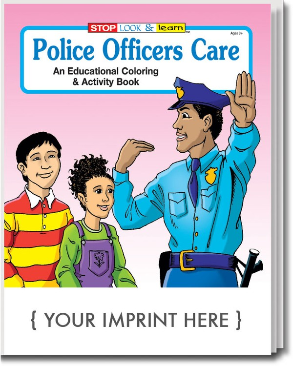 COLORING BOOK - Police Officers Care Coloring & Activity Book
