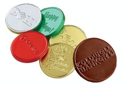 Chocolate Coins w/ Custom Logo