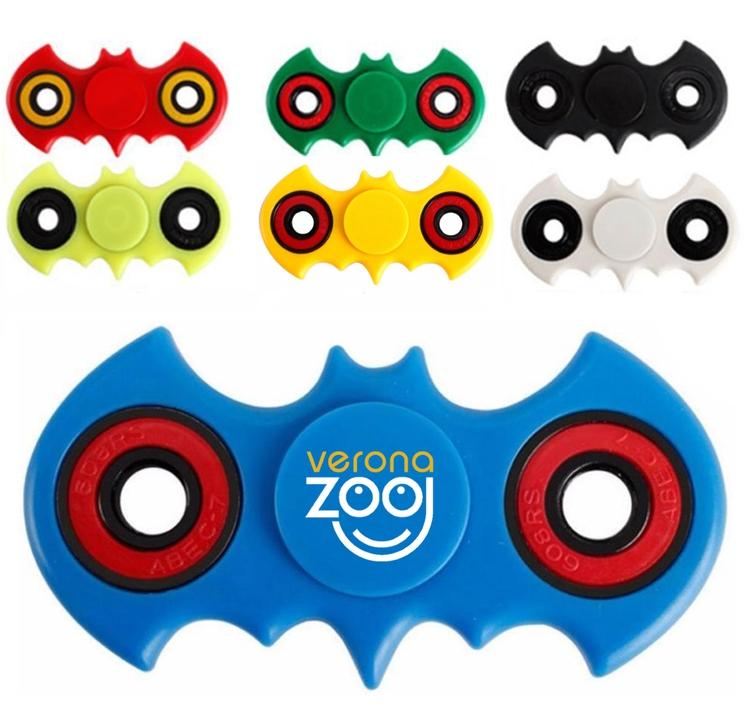 Bat Shaped Fidget Spinner Stress Reliever Toy