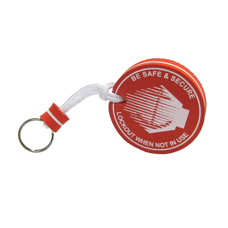 Circle-Shaped Floatable Keyring