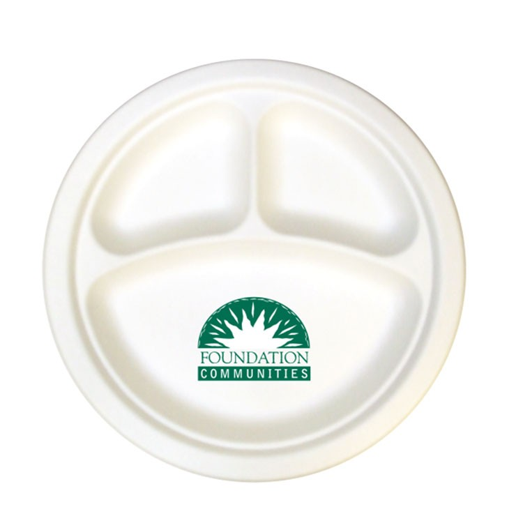 Compostable Paper Plates - 10