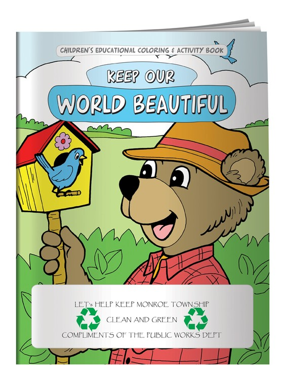 Children S Coloring Book Keep Our World Beautiful Cb1054