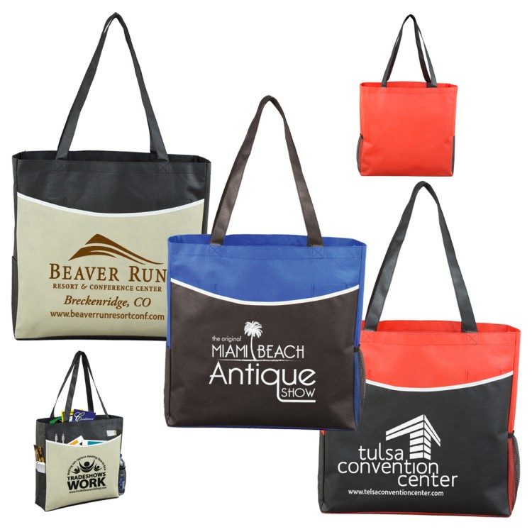 15 W x 15 H - 'The Pro' Tradeshow, Convention and Meeting Tote Bag