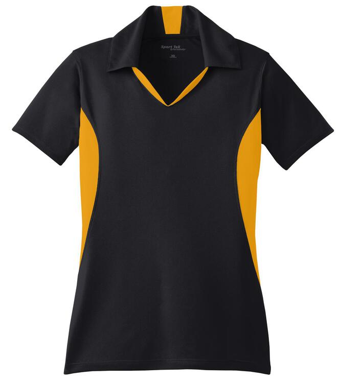 Sport-Tek - Ladies Side Blocked Micropique Sport-Wick Polo.