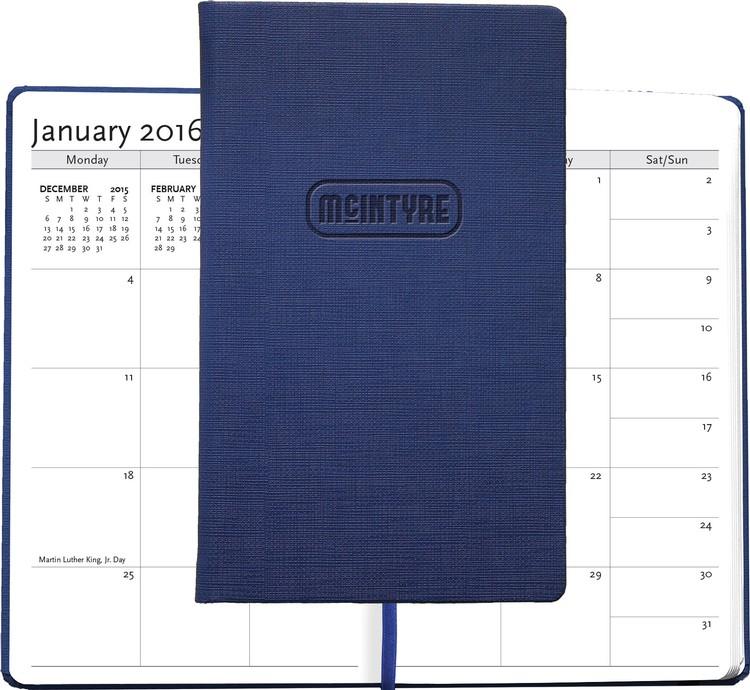 NEW! Bohemian™ Textured Journal w/ 2016 Calendar