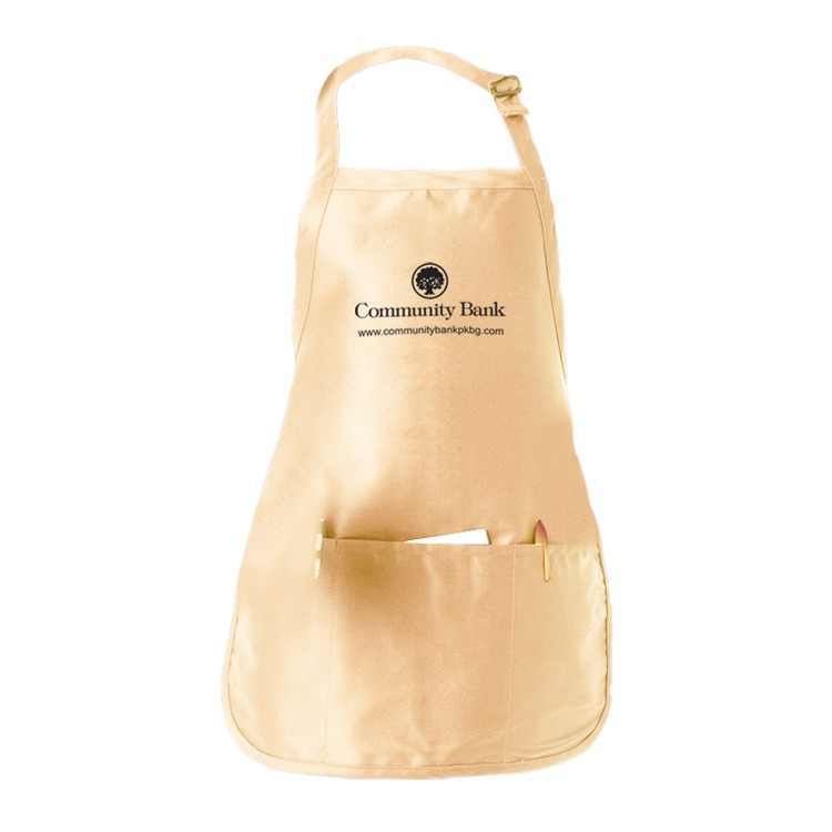 Medium Length Apron w/ Pouch