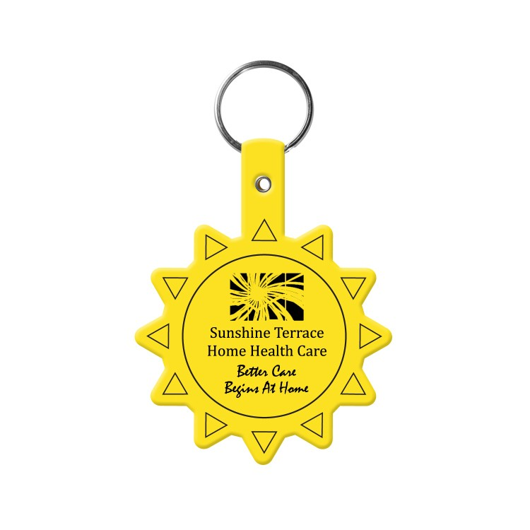 Sun Flexible Key-Tag