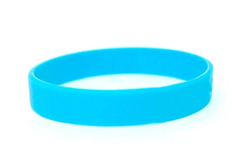 12mm Stock Silicone Wristbands