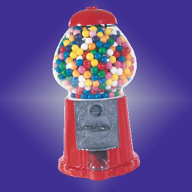 15 H DIE CAST IRON GUMBALL MACHINE