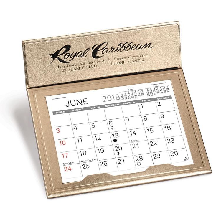 Crown Desk Calendar