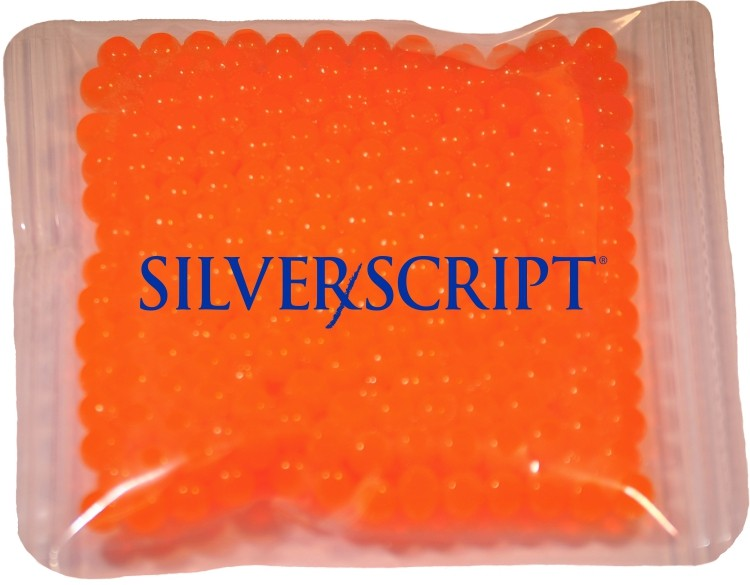 4.5 x 4.5 Orange, Gel Beads Cold/Hot Therapy Pack