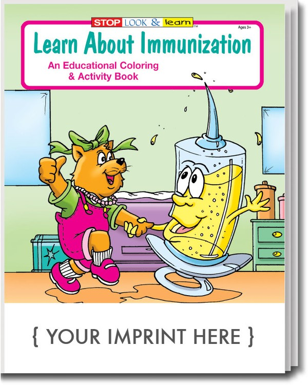 COLORING BOOK - Learn About Immunization Coloring & Activity Book
