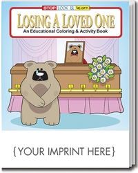 COLORING BOOK - Losing A Loved One Coloring & Activity Book - Coloring Book