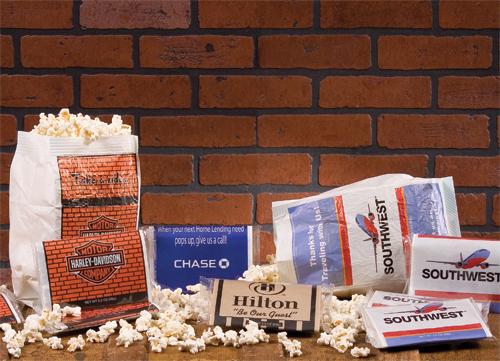 Custom Printed Microwave Popcorn Bags