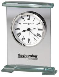 Howard Miller Augustine glass tabletop clock