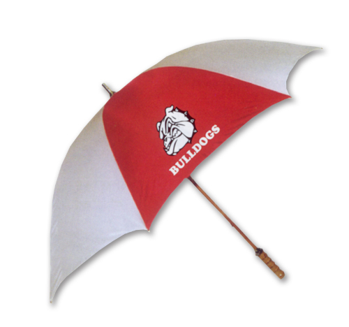 Wooden Shaft and Handle Golf Umbrella