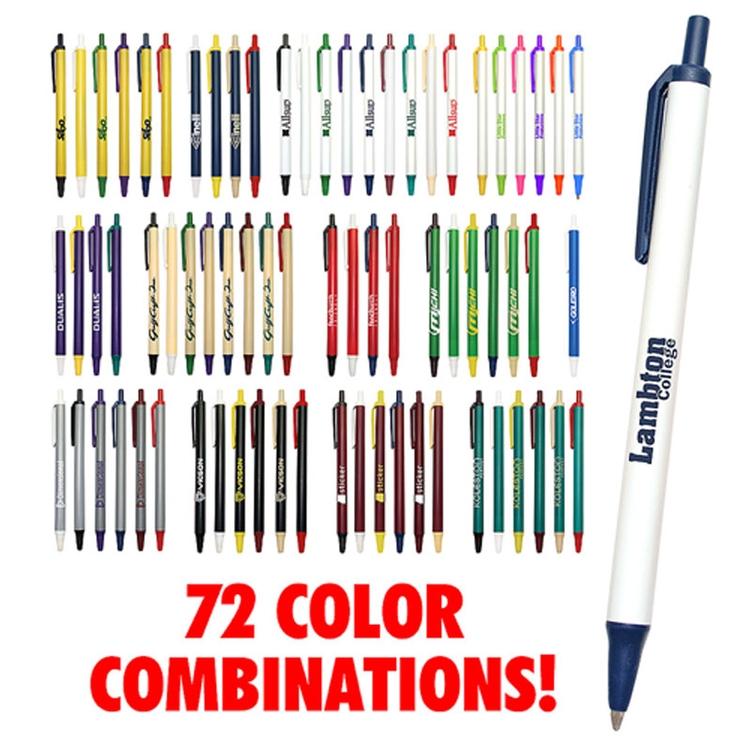 Orlando Retractable Ballpoint value click pen - Ballpoint Pen
