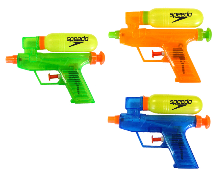 6 Water Gun Aqua Shooter with Tank