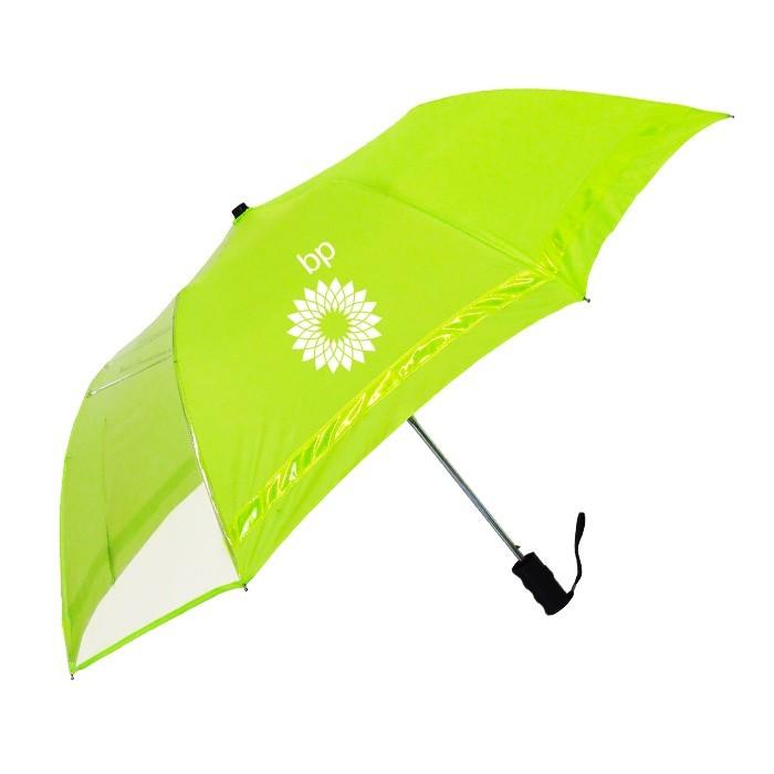 46 Inch Auto Open Folding Safety Umbrella SALE $9.99 Until September 30, 2017