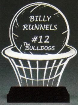 Basketball\'s Best Award-Clear Acrylic
