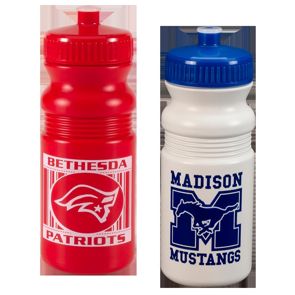 20 oz. Plastic Sports Bottle