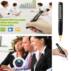 iBank® Digital Video & Audio Recorder, Pen, 4 GB Memory, USB Drive