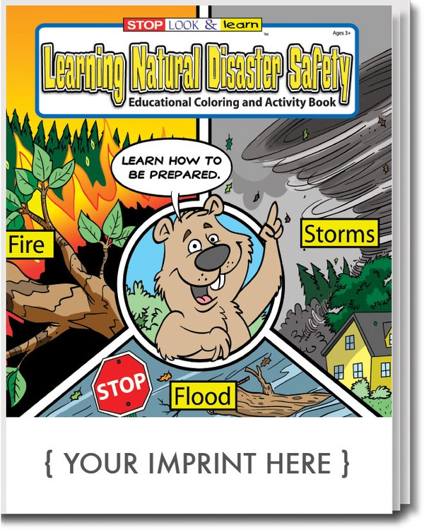 COLORING BOOK - Learning Natural Disaster Safety Coloring & Activity Book