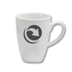 White Ceramic Mug ~ DC DEMO PRODUCT