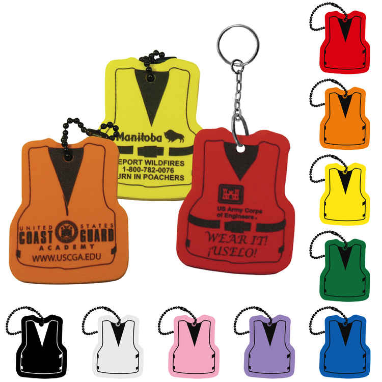 167d4d2301a Life Vest Floating Key Tag