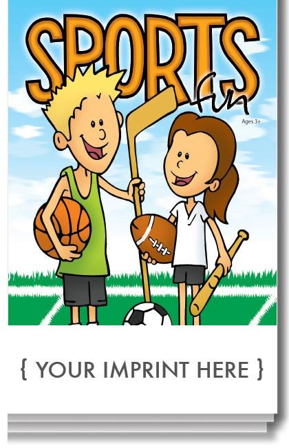 ACTIVITY PAD - Sports Fun Activity Pad