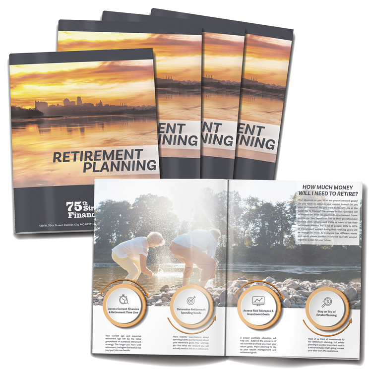 8-page (8.5x11) Booklet, Brochure or Catalog