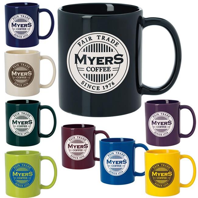 Budget Coffee Mug - Colors - 11 oz. (SALE)