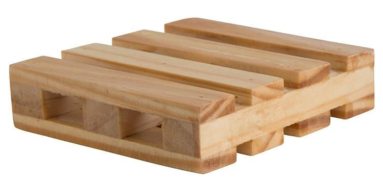 Natural Wood Pallet Coaster